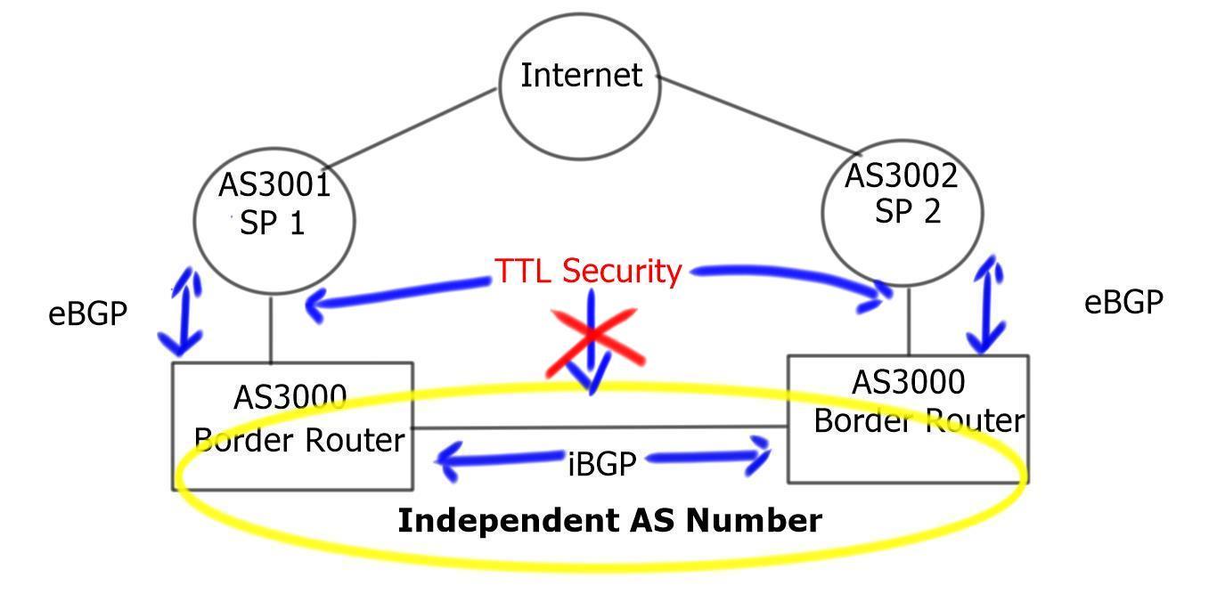 Attacking Border Gateway Protocol ( BGP ) at the Internet Edge
