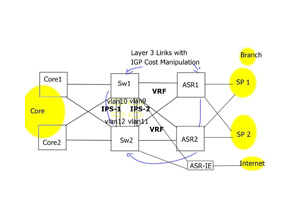 Intrusion Prevention System ( IPS ) Insertion in the WAN Edge distribution
