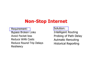 BGP Software Defined Networking (SDN) with Border 6 : Non-Stop Internet