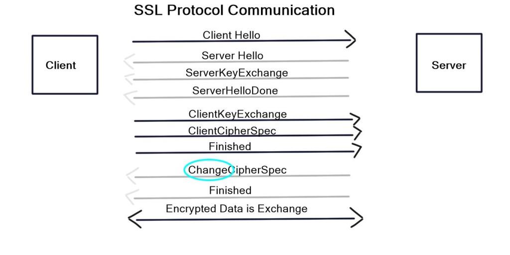 SSL protocol communication